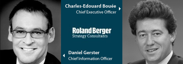 Daniel Gerster and Charles Edouard Bouee - Roland Berger