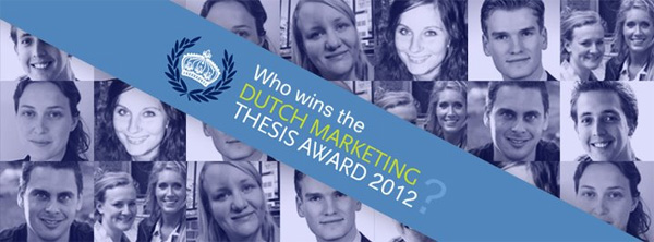 Dutch Marketing Thesis Award 2012