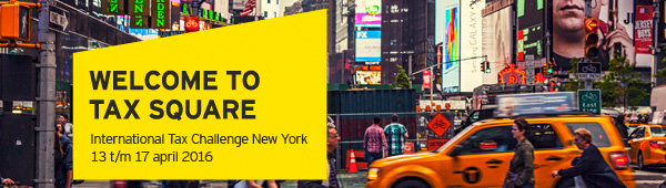 EY - International Tax Challenge New York