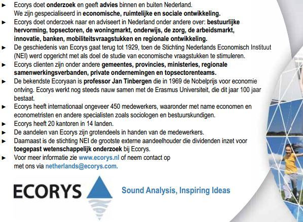 Ecorys Advertorial in FD The Tusted Advisor