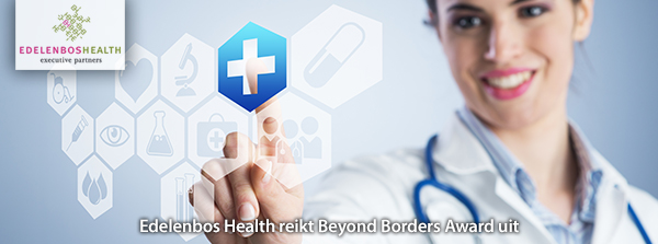 Edelenbos Health reikt Beyond Borders Award uit