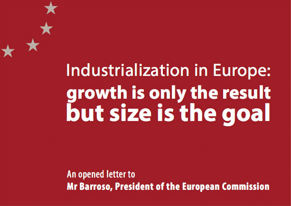 Eurogroup Consulting - Open Letter