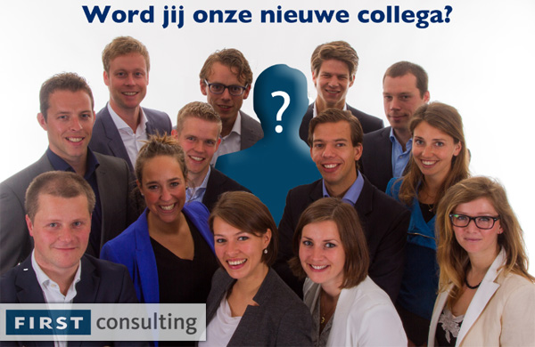 First Consulting zoekt nieuwe collega
