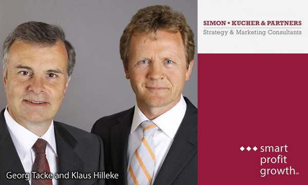 Georg Tacke en Klaus Hilleke - Simon-Kucher and Partners