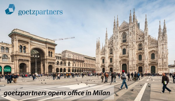 Goetzpartners opens office in Milan