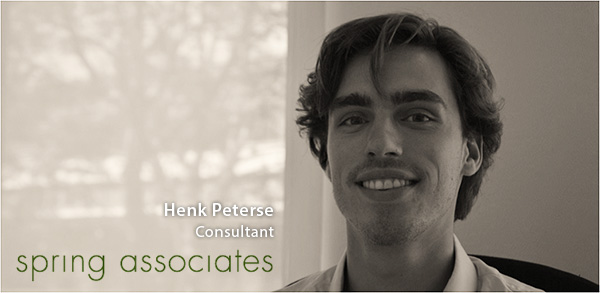 Henk Peterse - Spring Associates