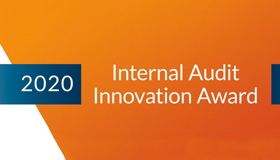 Internal Audit Innovation Award 2020