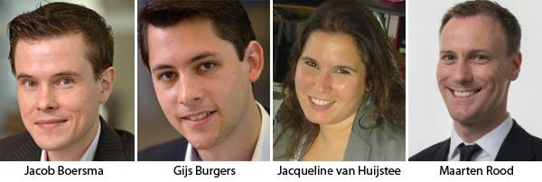 Jacob Boersma - Gijs Burgers - Jacqueline van Huijstee - Maarten Rood