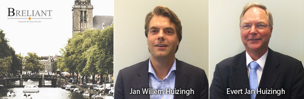 Jan Willem Huizingh en Evert Jan Huizingh