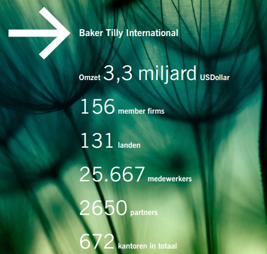 Kerncijfers Baker Tilly International
