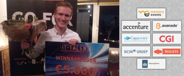 Maarten Bellekom - IT Talent van het Jaar 2014