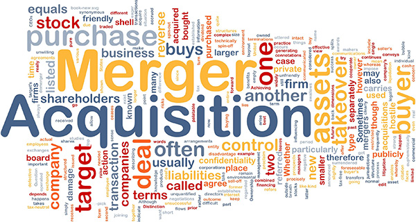 Mergers and acquisitions Tagcloud