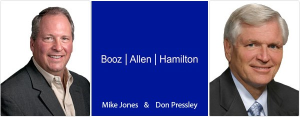 Mike Jones en Don Pressley - Booz Allen Hamilton