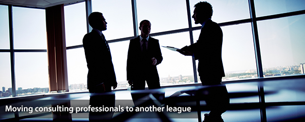Moving consulting professionals to another league