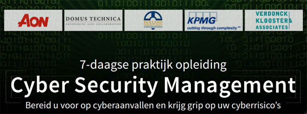 Opleiding Cyber Security Management