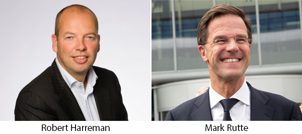 Robert Harreman, Mark Rutte
