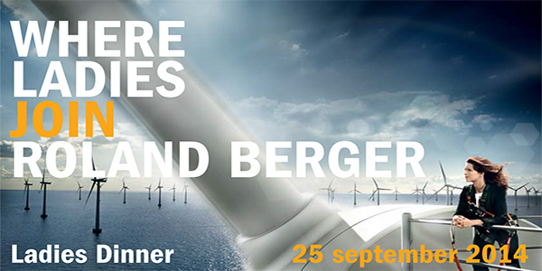 Roland Berger - Ladies dinner