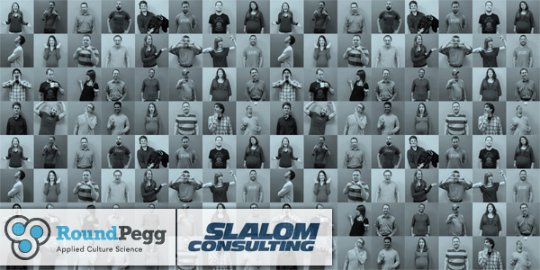 Slalom Consulting partnership met RoundPegg