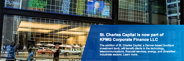 St Charles Capital part of KPMG Corporate Finance