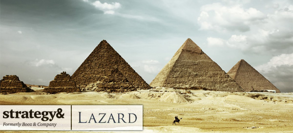 Strategy& and Lazard advise Egypt