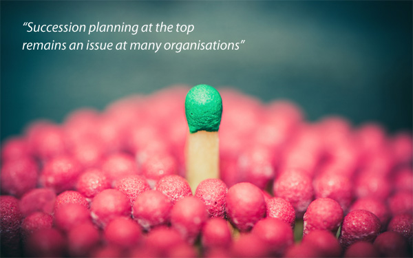 Succession planning at the top