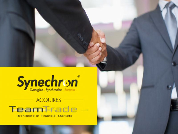 Synechron neemt TeamTrade over