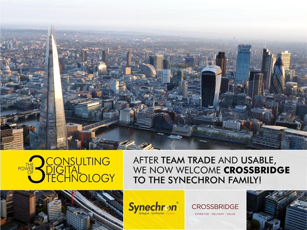 Synechron welcomes Crossbridge to the family