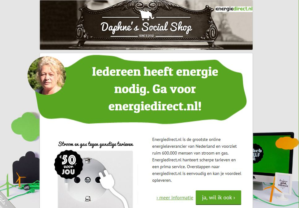 The Social Shop - Energiedirect.nl