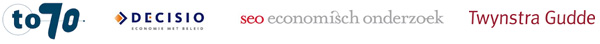 To70, Decisio, SEO Economisch Onderzoek, Twynstra Gudde