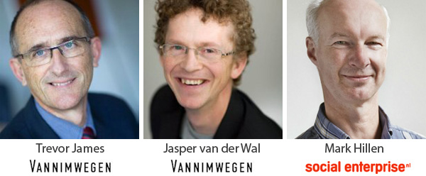 Trevor James - Jasper van der Wal - Mark Hillen