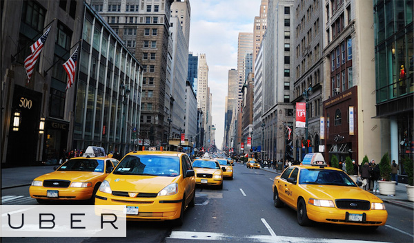 Uber taxi New York