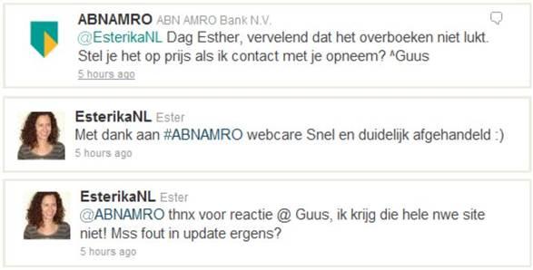 VODW - Banken tweets