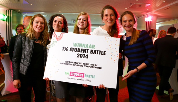 Winnaar 1% Student Battle 2014
