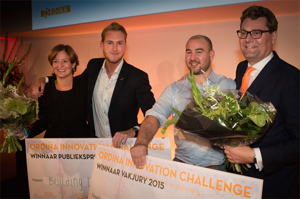 Winnaars Ordina Innovation Challenge