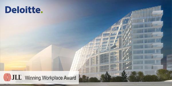 Winning Workplace Award - Deloitte