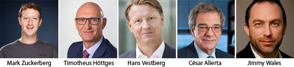 Zuckerberg - Hottges - Vestberg - Alierta and Wales