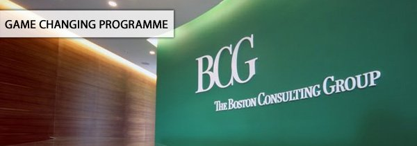 BCG - Game Changing Programme