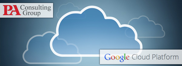 PA Consulting Group - Google Cloud Platform award